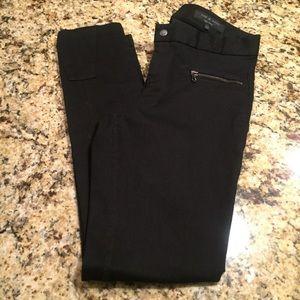 NWOT Rag & Bone black skinny jeans